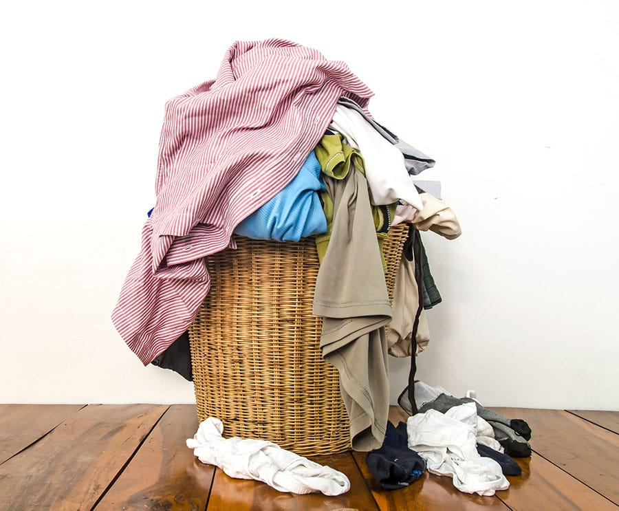 If you're at the forefront of your industry and you have laundry in the background, you might as well be folding socks.
